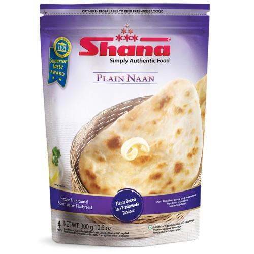Shana Plain Naan (12 x 4pcs)