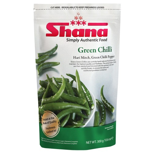 Shana Green Chilli (12 x 300g)