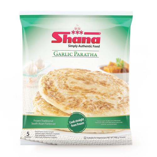 Shana Garlic Parathas (12 x 400g)