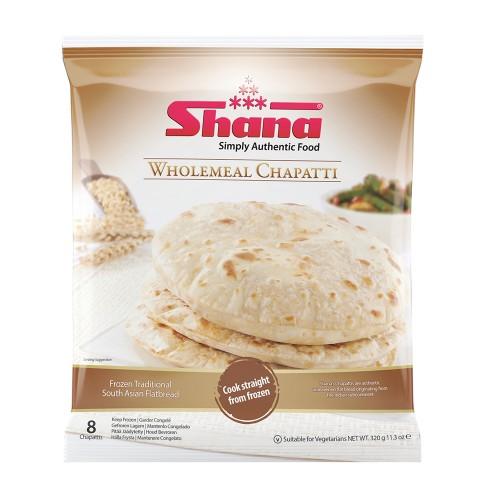Shana Wholemeal Chapatti (12 x 320g)