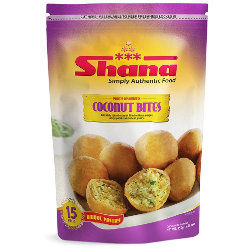 Shana Coconut Kachori / Bites (15 x 30g)