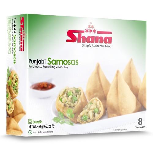 Shana Punjabi Samosas 8's (6 x 460g)
