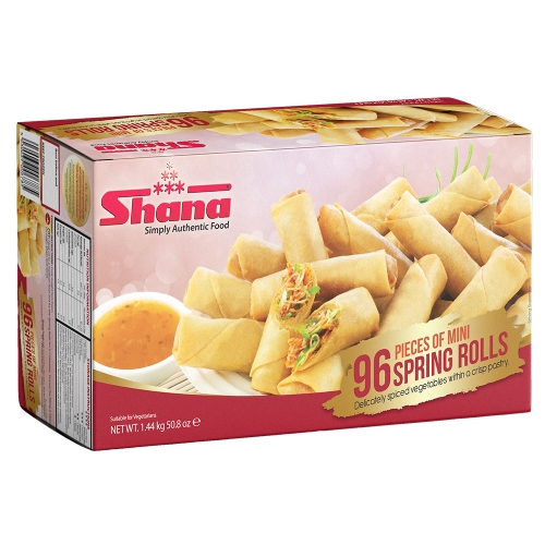 Shana Party Pack 96 Spring Rolls (6 x 1440g)