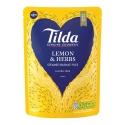 Tilda Lemon & Herbs Steamed Basmati - 6 x 250g