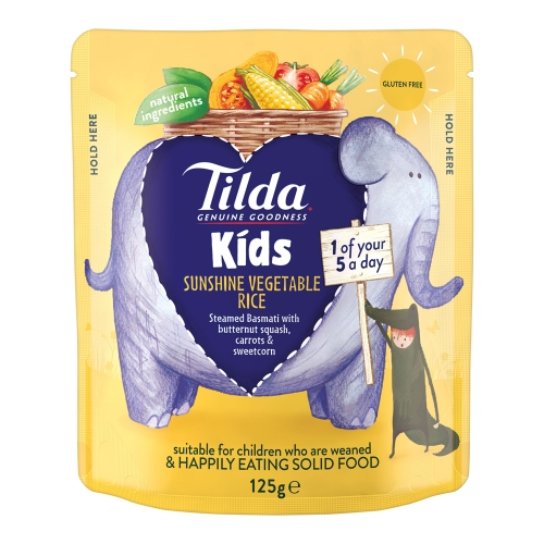 Tilda Kids Sunshine Vegetable - 125g