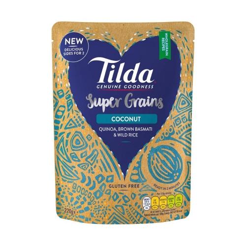 Tilda Coconut Super Grains - 220g
