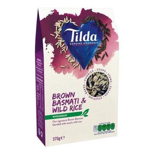 Tilda Brown Basmati & Wild Blends - 375g