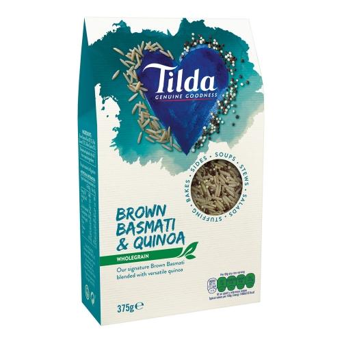 Tilda Brown Basmati Rice & Quinoa Blends - 375g