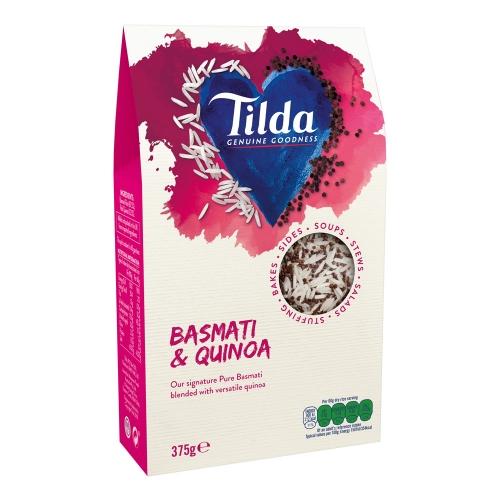Tilda Basmati Rice & Quinoa Blends - 375g