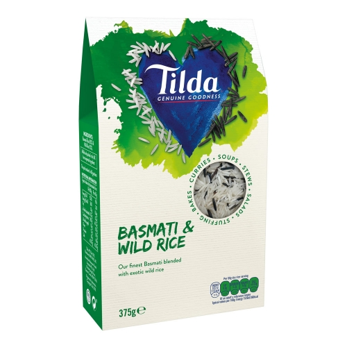 Tilda Basmati & Wild Blends - 375g