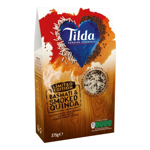 Tilda Limited Edition Basmati Rice & Smoked Quinoa Blends - 375g