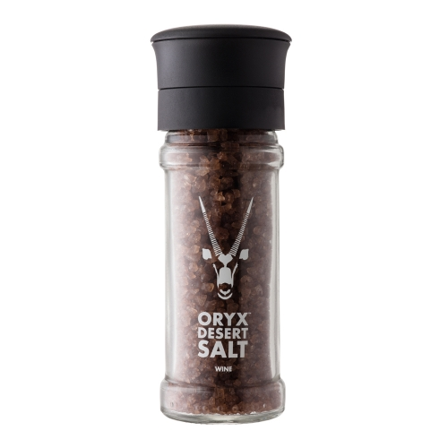Oryx Salt infused with Shiraz Wine – 100 grams