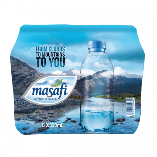 Masafi Mineral Water (6x330ml)